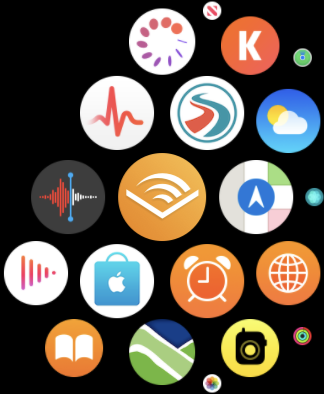 aplicativo audível no apple watch