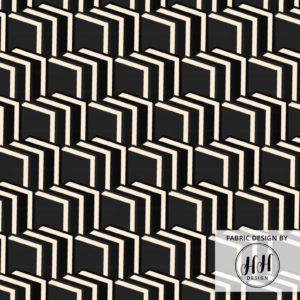 Book Chevron Fabric