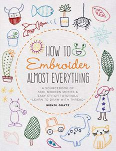 cover of How to Embroider Almost Everything