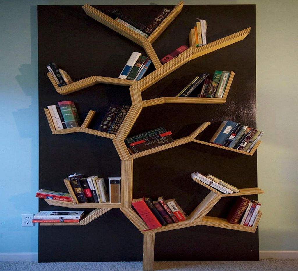 large tree bookshelf
