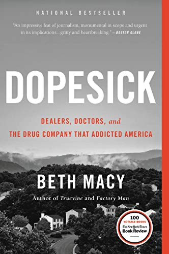 cover image of Dopesick by Beth Macy