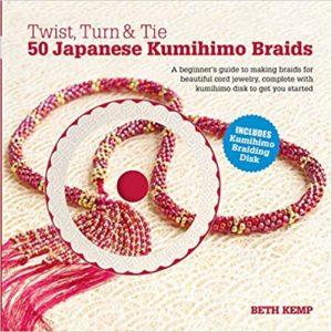 capa de torcer, virar e amarrar 50 tranças japonesas Kumihimo
