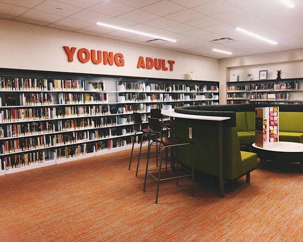 My hometown library, taken by Leah von Essen