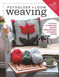 Potholder Loom Weaving cover