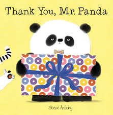 Thank You Mr. Panda book cover