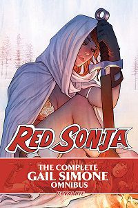 The Complete Gail Simone Red Sonja Omnibus cover