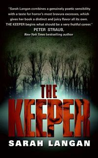 the keeper by sarah langan cover