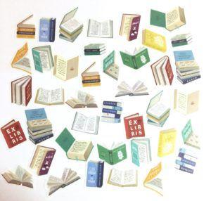 Washi Book Stickers
