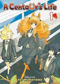 A vida de um centauro, volume 1, capa - Kei Murayama