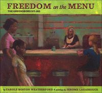 Freedom on the Menu: The Greensboro Sit-ins Cover