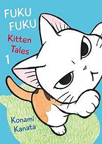 FukuFuku Kitten Tales volume 1 capa-Konami Kanata