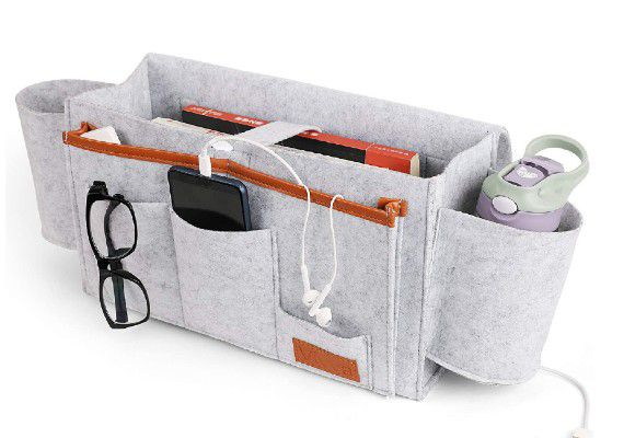 Large Felt Bedside Caddy Organizer from Amazon