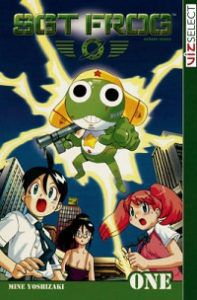 Sgt Frog volume 1 cover - Mine Yoshizaki