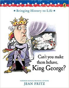 Why Cant You Make Them Behave King George