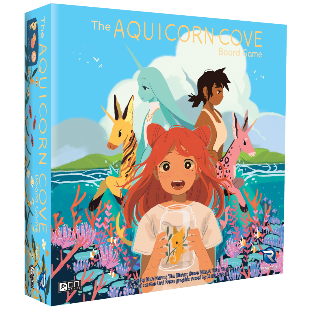 Aquicorn Cove board game