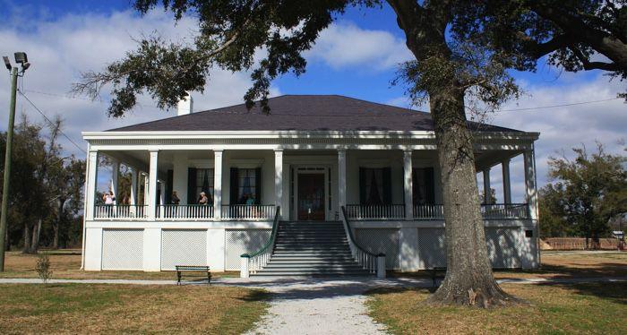 Beauvoir in Biloxi, Mississippi