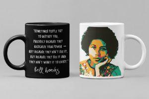 bell hooks mug