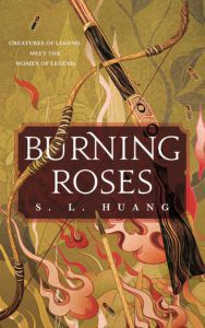 Cover of Burning Roses by Huang