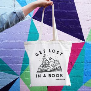 Get Lost in Books Tote Bag
