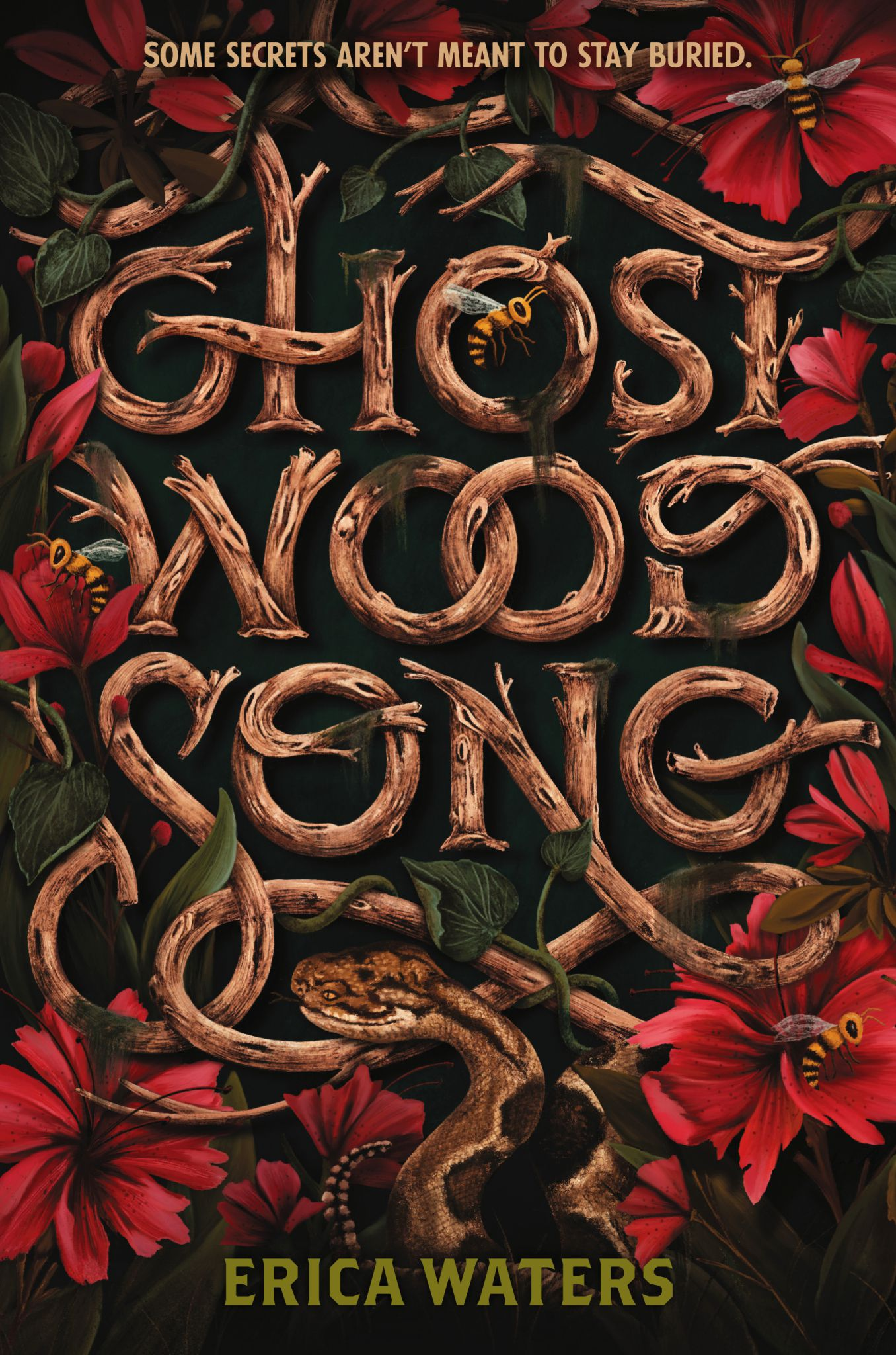 Book cover of Ghost Wood Song