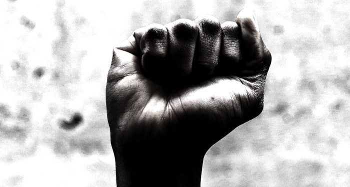 image of Black fist power
