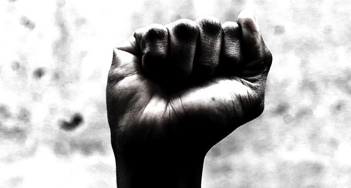image of Black fist power
