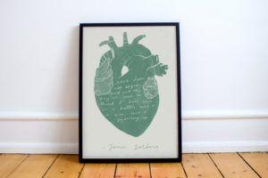 James Baldwin love quote print
