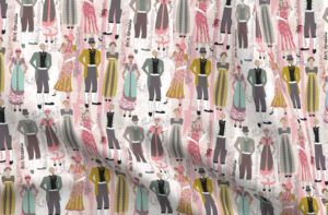 Literary Characters Fabric