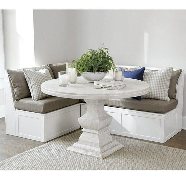 corner kitchen benches with cushions and pillows