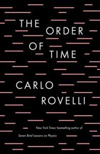 The Order of Time cover, Book Riot, Books About Time