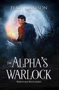 book cover of the alpha's warlock