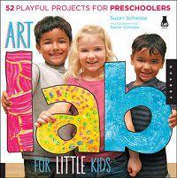 Art Lab For Little Kids cover
