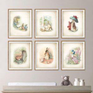 Beatrix Potter Peter Rabbit Art Prints