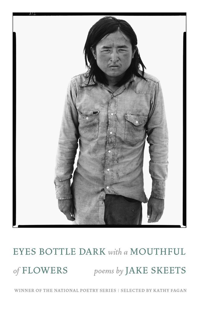 Eyes Bottle Dark with a Mouthful of Flowers Jake Skeets cover