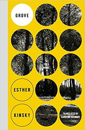 Grove by Esther Kinsky cover