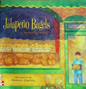 Jalapeno Bagels book cover