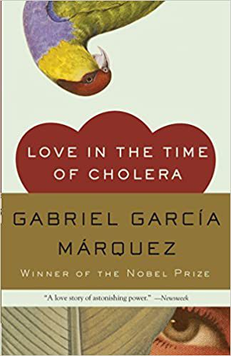 Love in the Time of Cholera by Gabriel García Márquez Book Cover
