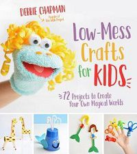 Low Mess Crafts for Kids cover