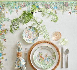 Peter Rabbit Garden Table Throw Pottery Barn