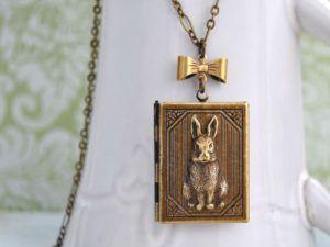 Peter Rabbit Locket Necklace