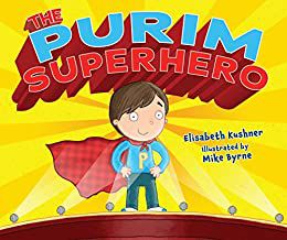 The Purim Superhero book cover