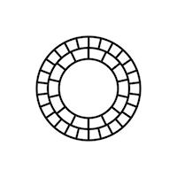 Logotipo do aplicativo VSCO