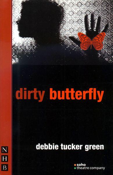 capa de borboleta suja
