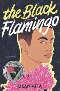 imagem da capa do The Black Flamingo por Dean Atta