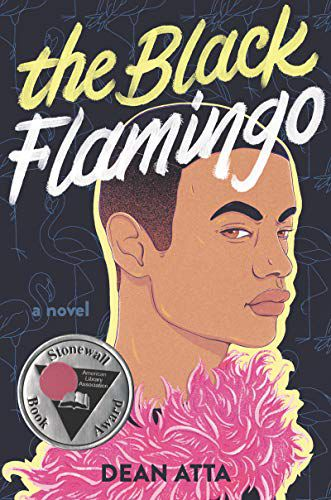 cover image of The Black Flamingo by Dean Atta