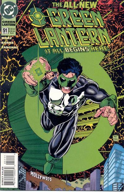 Kyle Rayner Green Lantern cover