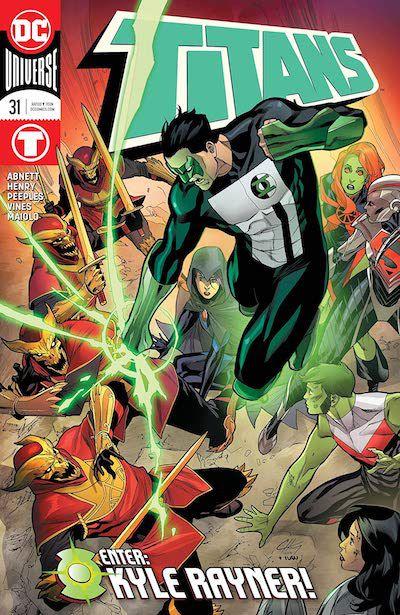 Kyle Rayner Titans cover