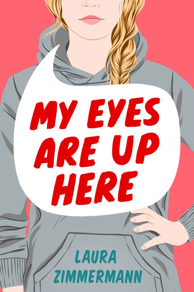 my eyes are up here book cover