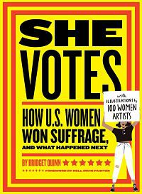 Cover of She Votes by Quinn