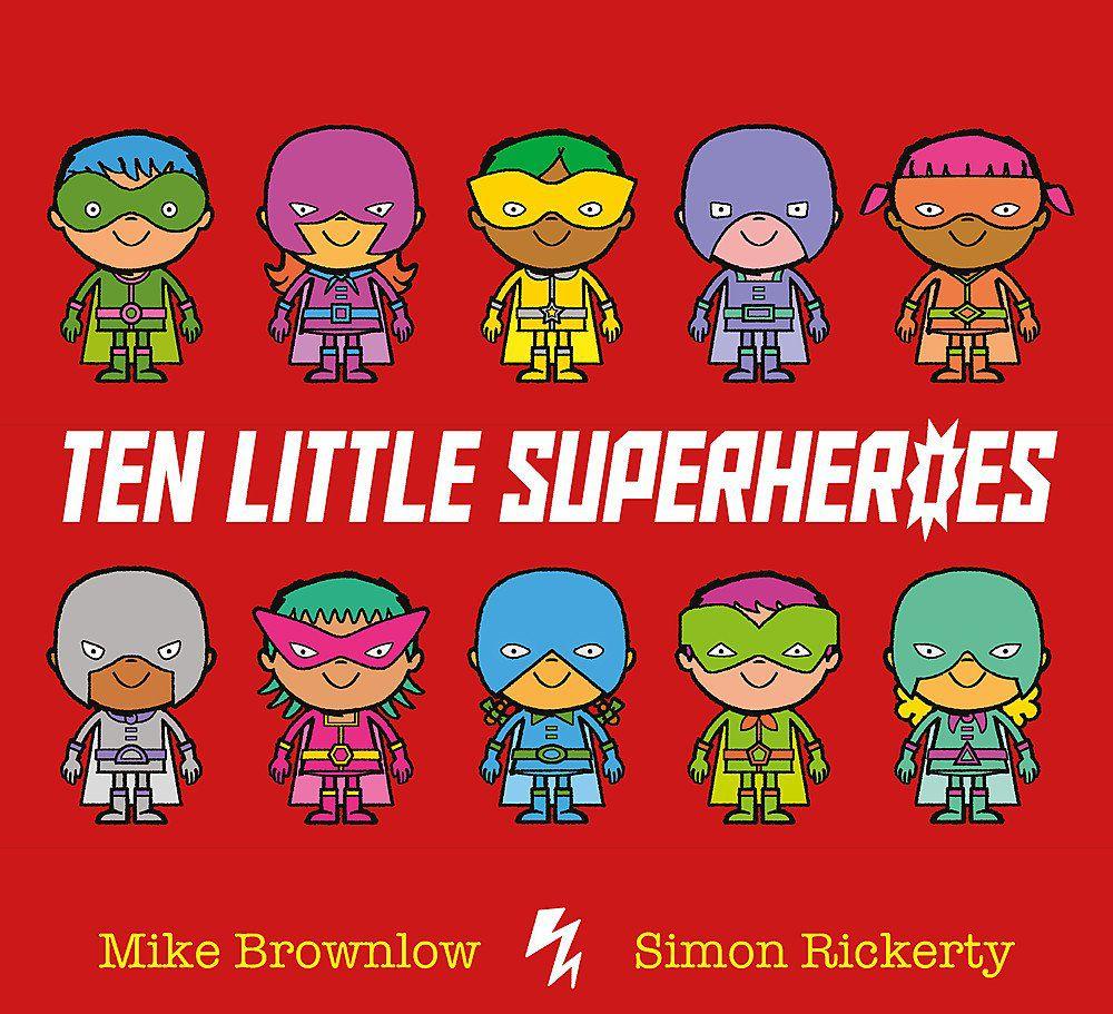 Ten Little Superheroes book cover
